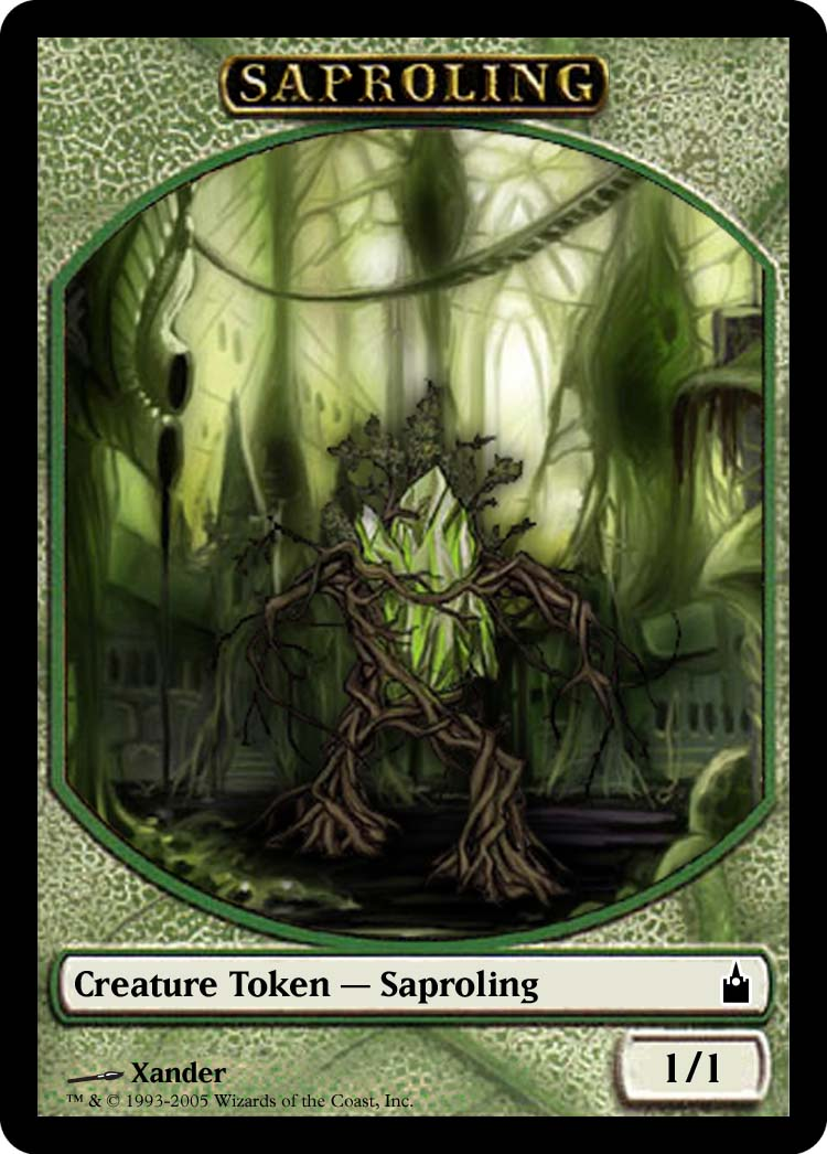 Token Creatures For Use With Magic The Gathering